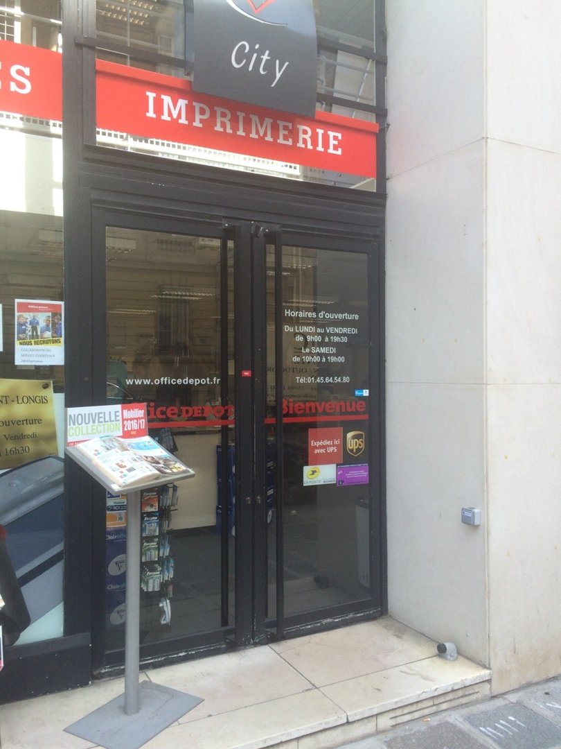 Photo du 26 août 2016 13:22, Office DEPOT, 168 Rue du Faubourg Saint-Honoré, 75008 Paris, France