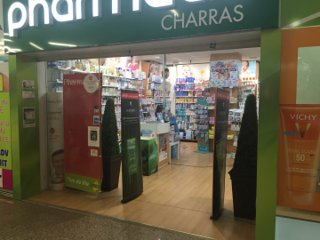 Photo of the August 26, 2016 12:04 PM, Pharmacie Charras, Centre Commercial Charras, 21 Rue de Bezons, 92400 Courbevoie, France