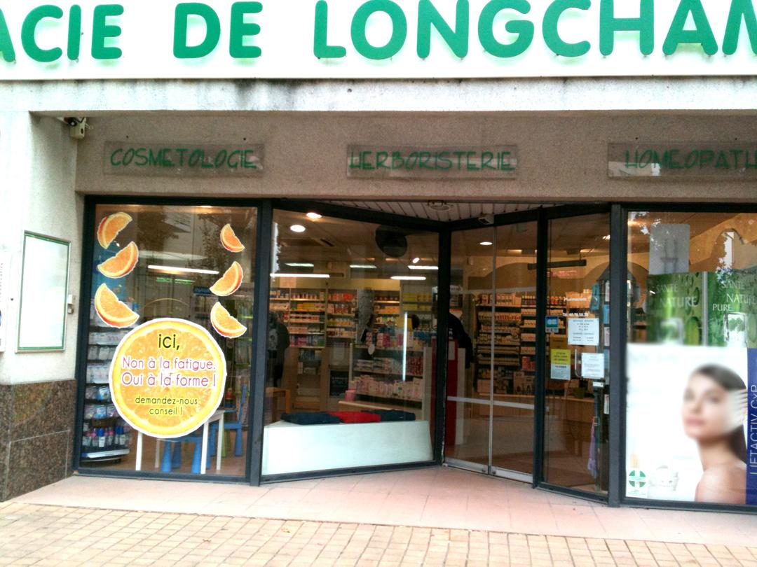 Photo du 5 février 2016 18:51, PHARMACIE DE LONGCHAMP, 112 Rue Robert Schuman, 44300 Nantes, France
