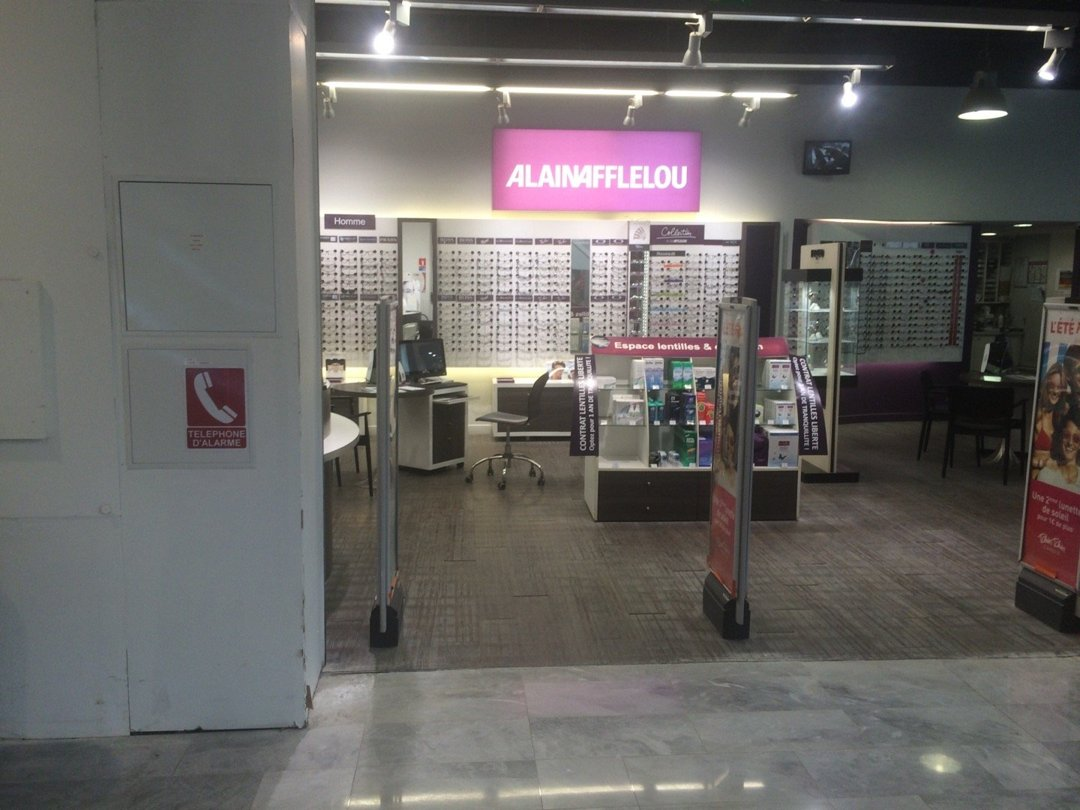 Photo of the August 26, 2016 11:58 AM, Opticien Alain Afflelou, 2, rue de l'Arc en Ciel, Centre Commercial Forum des Halles, 75001 Paris, France