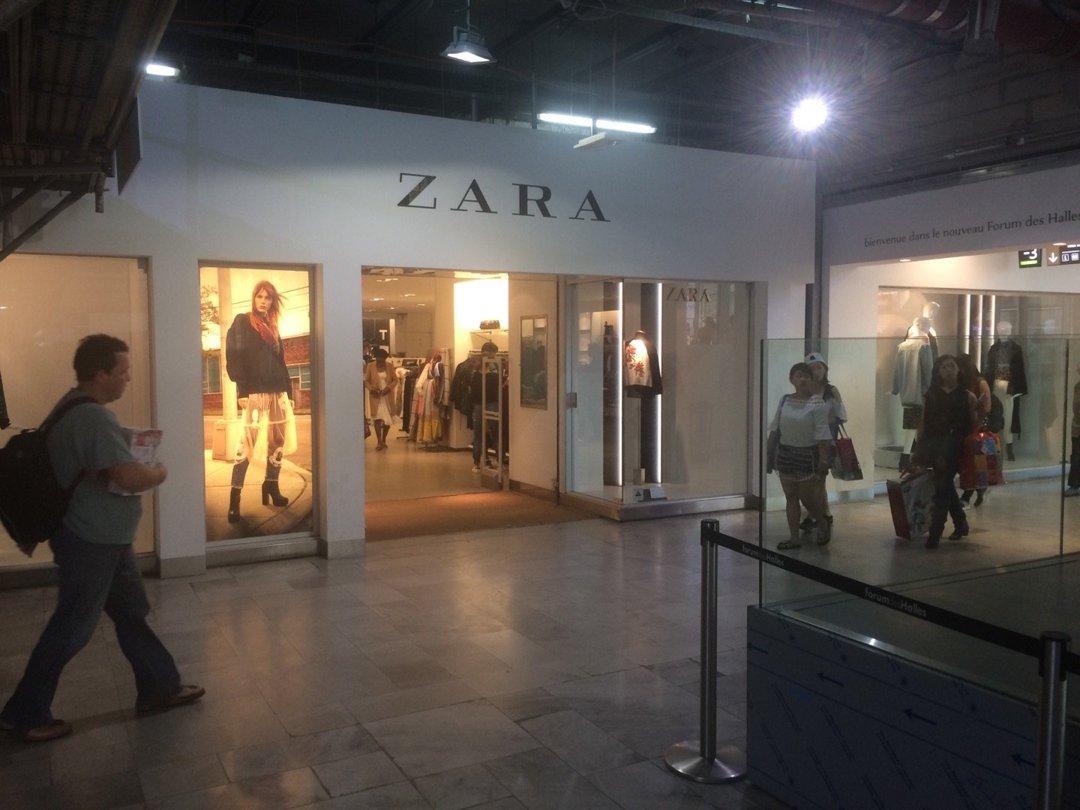 Photo of the August 26, 2016 12:09 PM, ZARA Femme, 101 Rue Berger, 75001 Paris, France