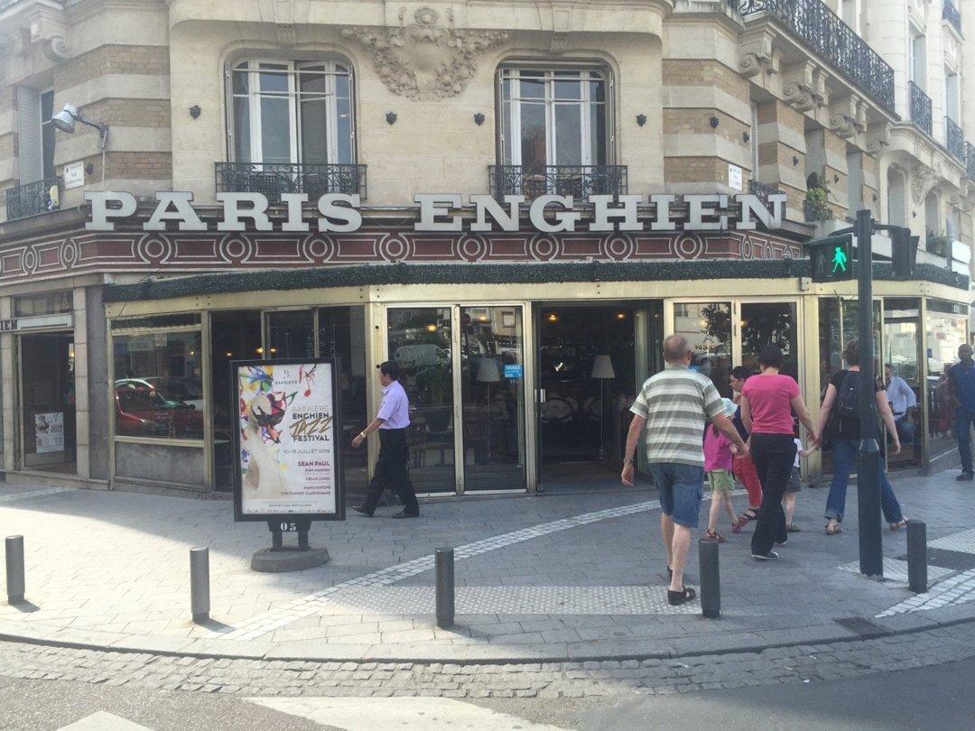Photo of the July 8, 2016 1:57 PM, Paris-Enghien, 1 Rue de l'Arrivée, 95880 Enghien-les-Bains, France