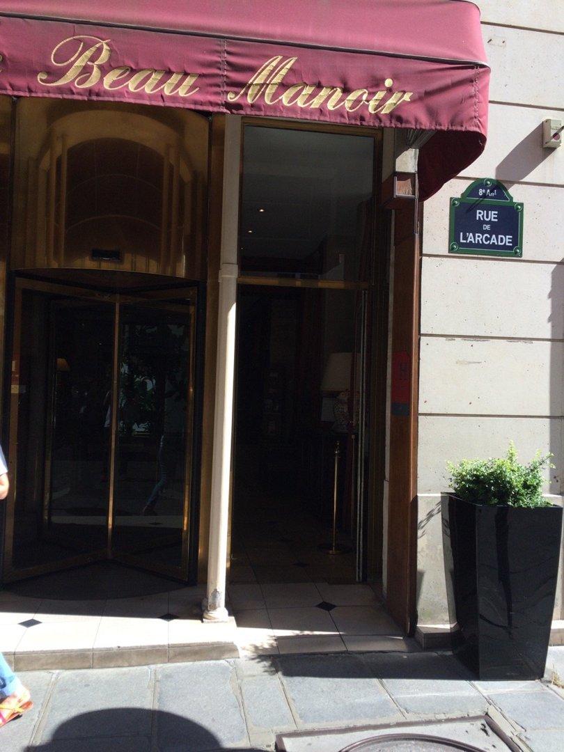 Photo of the September 9, 2016 1:07 PM, Amarante Beau Manoir, 6 Rue de l'Arcade, 75008 Paris, France