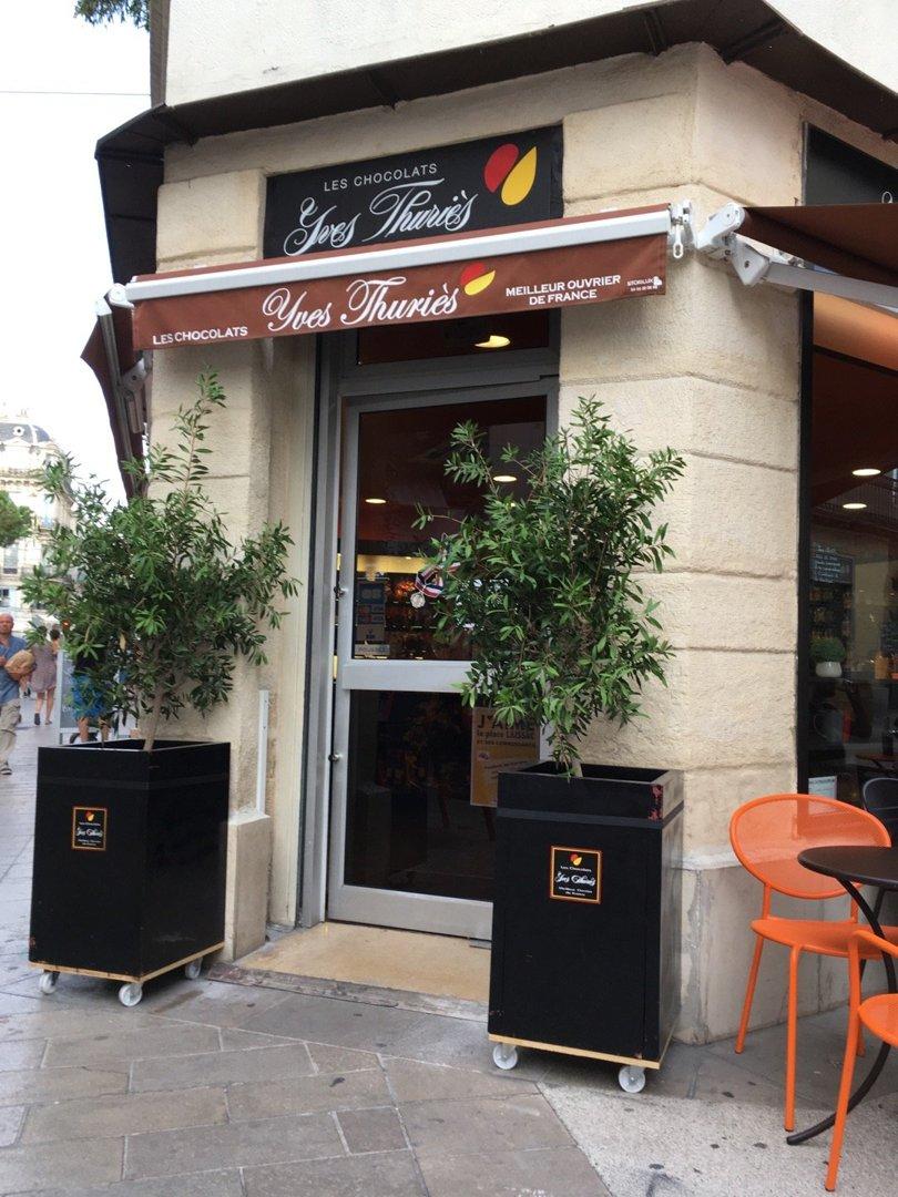 Foto vom 3. September 2016 16:50, Les Chocolats Yves Thuriès, 13 Rue du Faubourg de la Saunerie, 34000 Montpellier, Frankreich