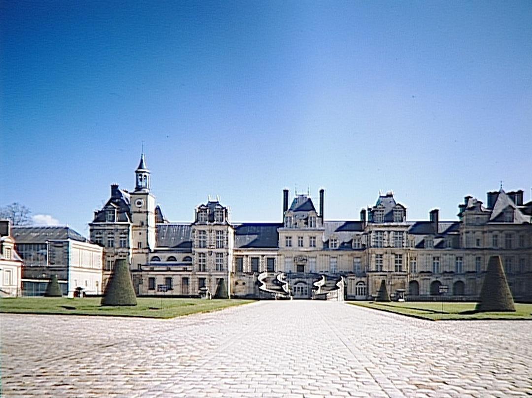 Foto vom 5. Februar 2016 18:48, Schloss Fontainebleau, 77300 Fontainebleau, Frankreich