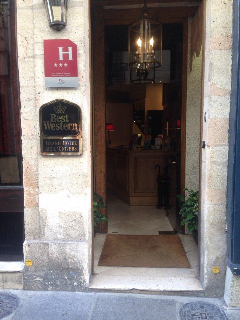 Photo of the September 9, 2016 1:16 PM, Grand Hôtel De L'Univers - Paris - St Germain des Prés, 6 Rue Grégoire de Tours, 75006 Paris, France
