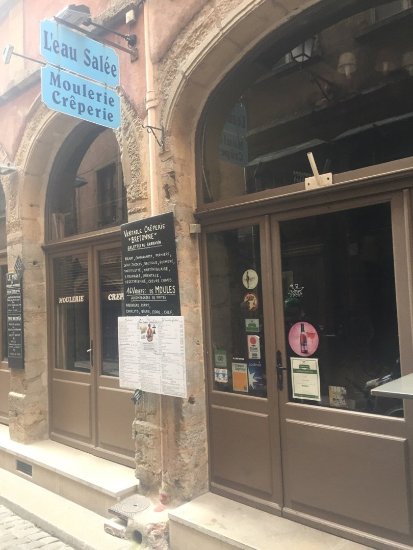 Photo du 6 octobre 2016 13:04, L'Eau Salée, 4 Rue des 3 Maries, 69005 Lyon, France