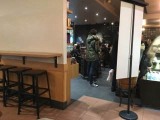 Photo du 4 novembre 2016 15:04, Starbucks, Centre Commercial Les Passages, 5 Rue Tony Garnier, 92100 Boulogne, Frankreich