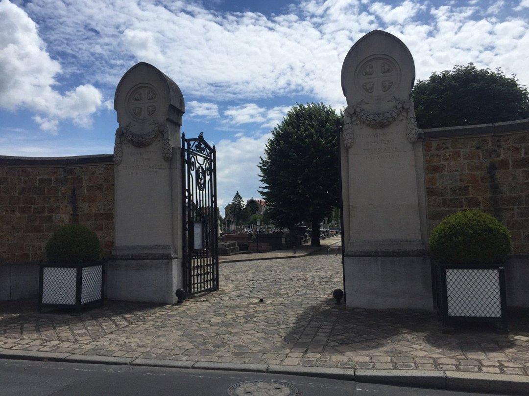 Foto vom 13. Juli 2016 10:47, Cimetière nord, 30 Rue Louis Delamarre, 95880 Enghien-les-Bains, Frankreich