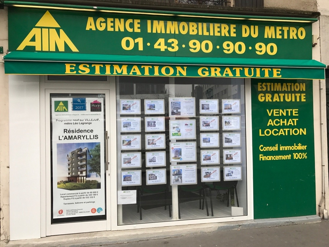 Photo of the March 10, 2017 11:54 AM, A.I.M (Agence Immobilière du Métro), 59 Avenue de Paris, 94800 Villejuif, France