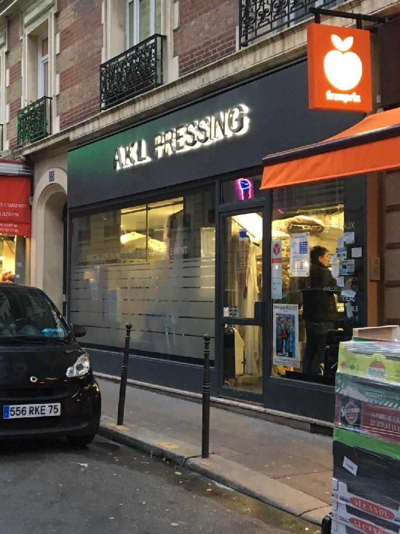 Photo du 25 novembre 2016 15:10, A.K.L Pressing, 37 Rue Lauriston, 75116 Paris, France