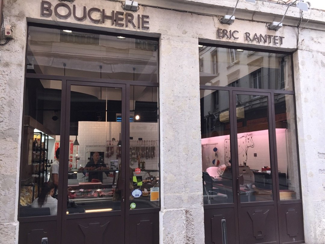 Photo of the October 6, 2016 1:42 PM, Boucherie Rantet, 1 Rue du Plâtre, 69001 Lyon, France