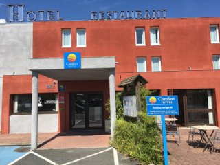 Photo du 9 septembre 2016 11:30, Comfort Hotel Albi, Rue de Bourdes, 81000 Albi, France