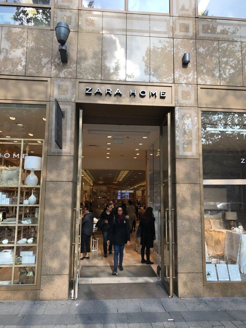 Foto del 27 de octubre de 2016 12:53, Zara Home, 38-40 Av. des Champs-Élysées, 75008 Paris, Francia