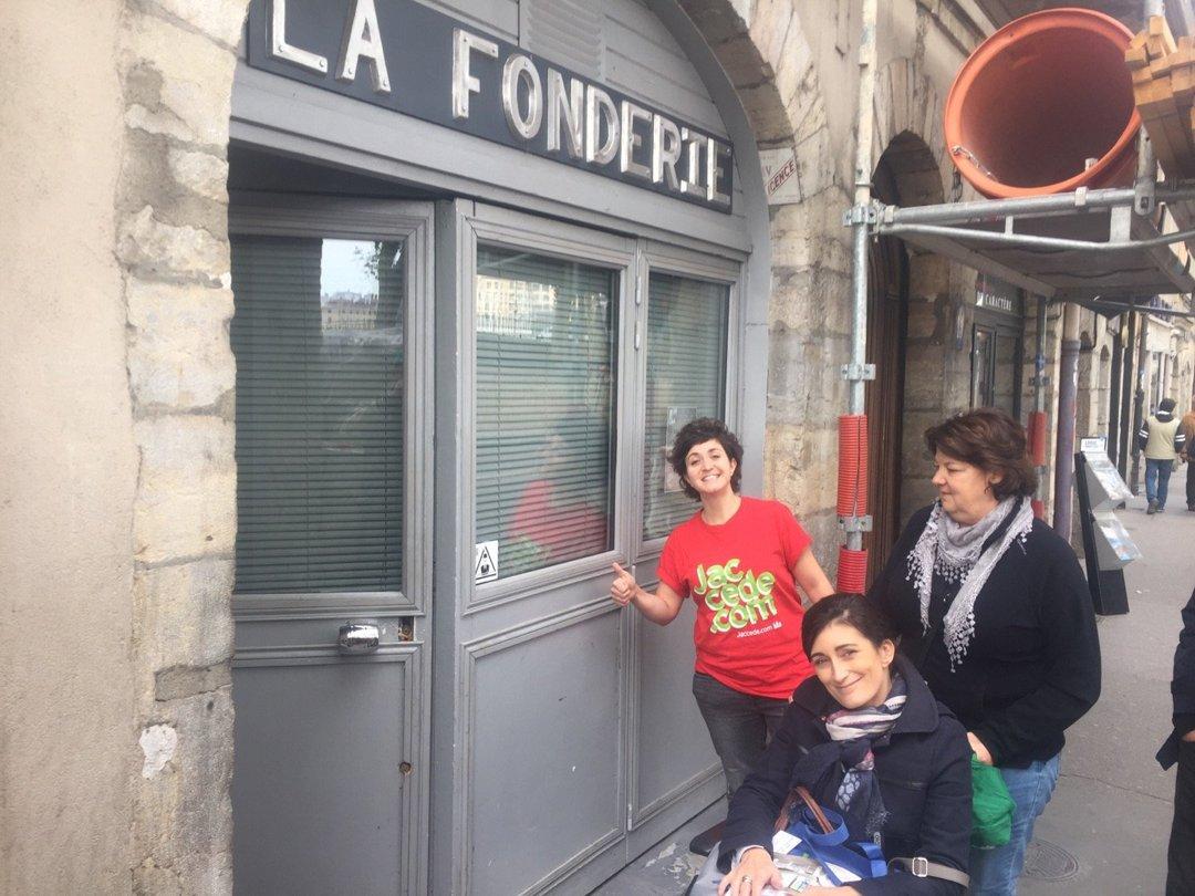 Foto del 6 de octubre de 2016 13:32, La fonderie, 19 quai romain rolland, 69005 Lyon, Francia