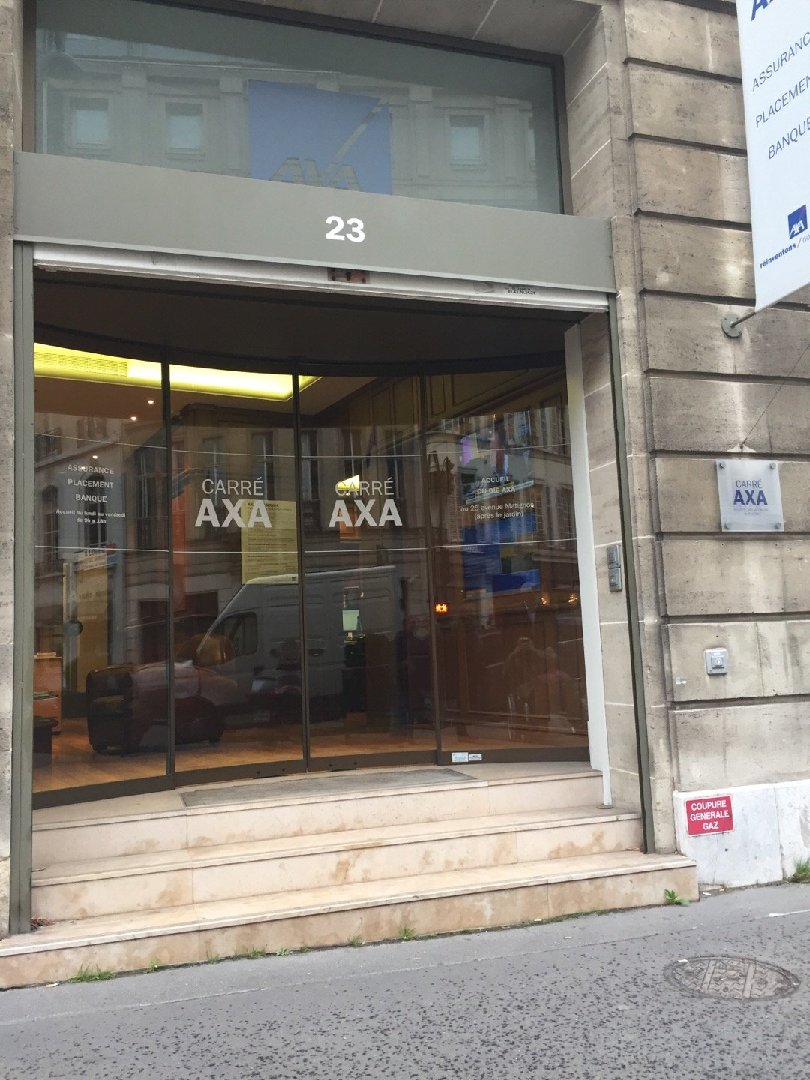 Photo du 2 février 2017 14:45, Assurance AXA CARRE AXA, 23 Avenue Matignon, 75008 Paris, France