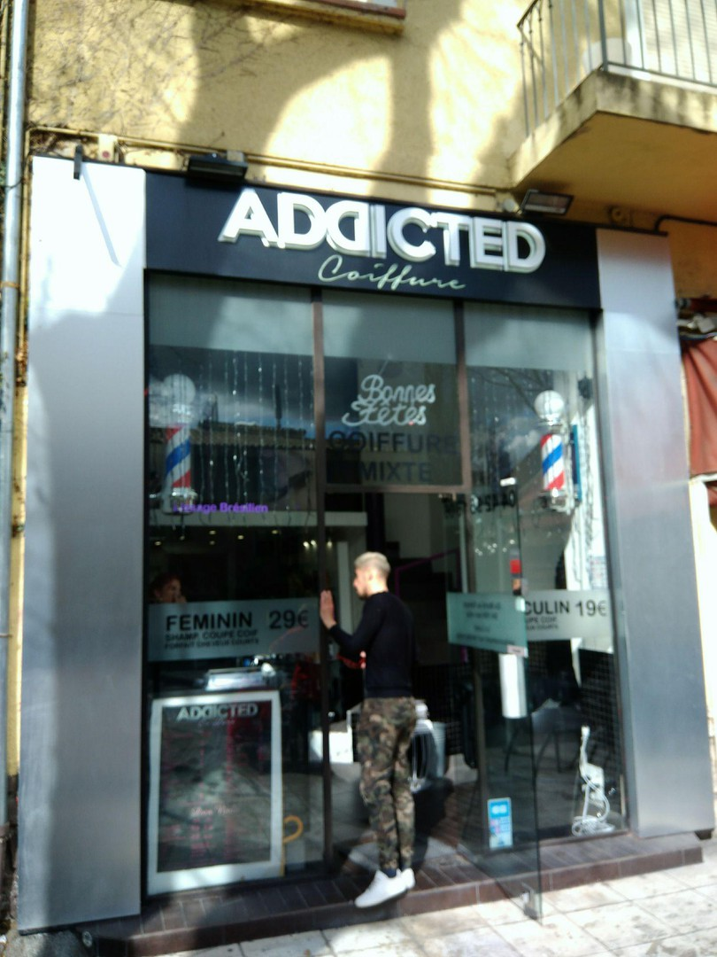 Photo of the March 17, 2018 1:51 PM, Addicted Coiffure, bis, 53 Boulevard Aristide Briand, 13100 Aix-en-Provence, France