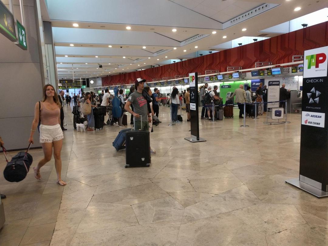 Foto vom 4. Juli 2017 13:42, Flughafen Madrid-Barajas, Av de la Hispanidad, s/n, 28042 Madrid, Spanien