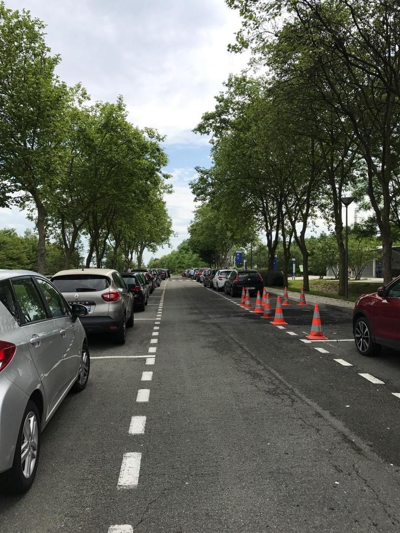 Foto vom 28. Mai 2017 09:47, Aire de Repos de la Leu, 28120 Illiers-Combray, Frankreich