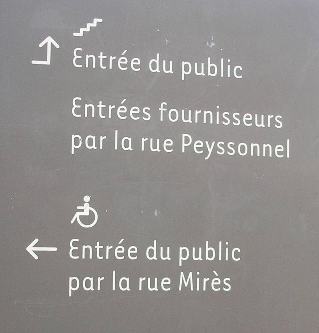 Foto del 5 de febrero de 2016 18:54, Bibliothèque et Archives Départementales des Bouches-du Rhône, 18-20 Rue Mirès, 13003 Marseille, Francia