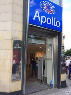Photo of the June 16, 2018 3:25 PM, Apollo-Optik, Zeil 68, 60313 Frankfurt am Main, Germany