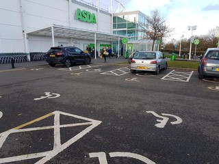 Photo of the November 12, 2017 6:37 PM, Asda Ipswich Superstore, White House Industrial Estate, Goddard Rd, Ipswich IP1 5PD, UK