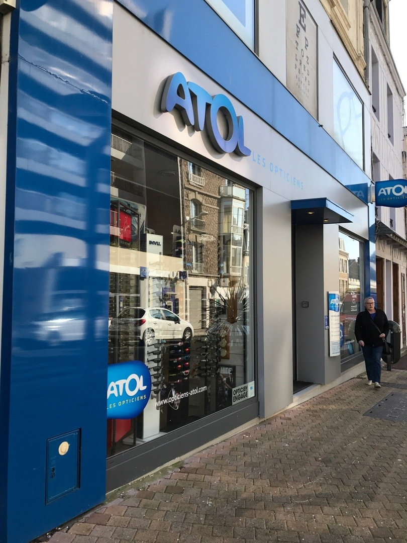 Photo of the March 16, 2017 2:33 PM, Atol les Opticiens, 114 Rue Couraye, 50400 Granville, France