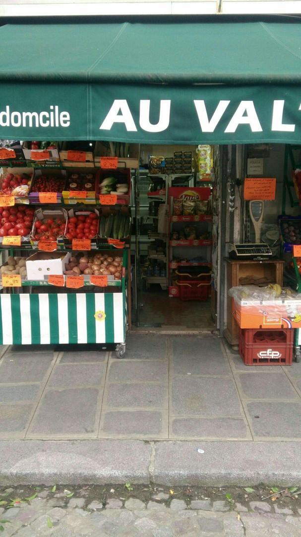 Foto del 26 de octubre de 2017 9:46, Au Val's Market, 6 Place Alphonse Laveran, 75005 Paris, Francia