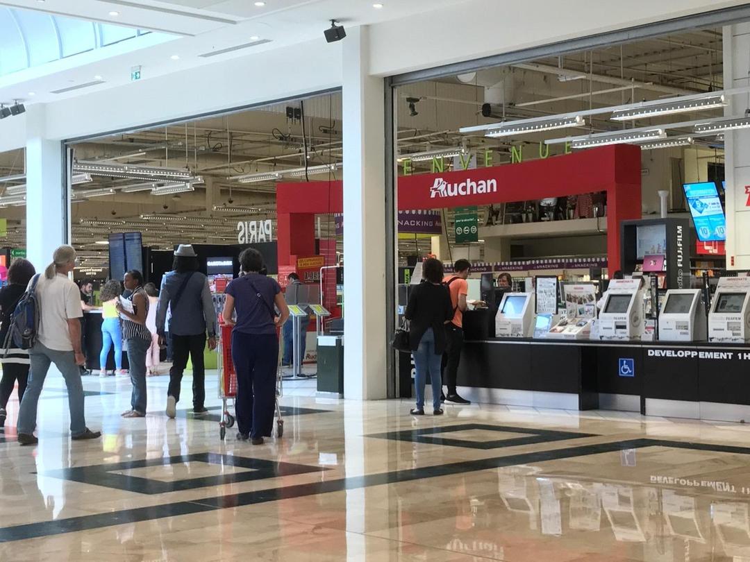 Foto del 27 de junio de 2017 10:57, Auchan Val d'Europe, 14 Cours du Danube, 77700 Serris, France