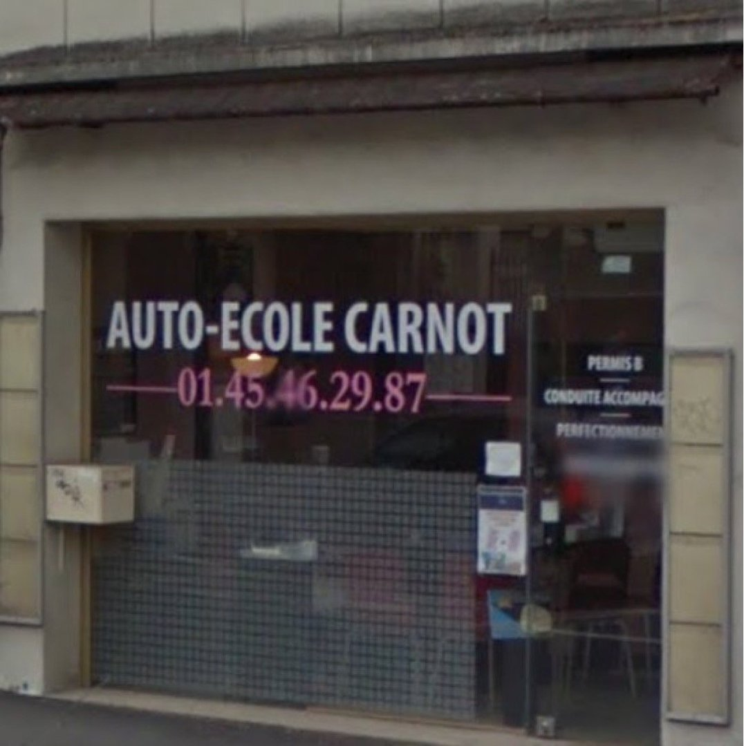 Photo of the December 2, 2016 9:19 AM, Driving School Carnot, 14 Avenue Carnot, 94230 Cachan, Frankreich