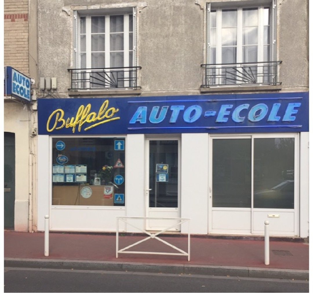 Photo of the December 2, 2016 9:16 AM, Driving School Buffalo, 28 Rue Carves, 92120 Montrouge, France