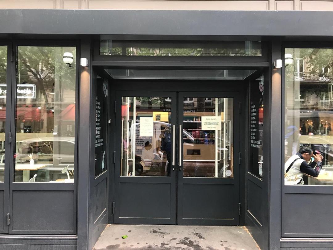 Photo of the June 6, 2017 1:55 PM, Aux 2 Vaches, 17bis Boulevard Haussmann, 75009 Paris, Frankreich