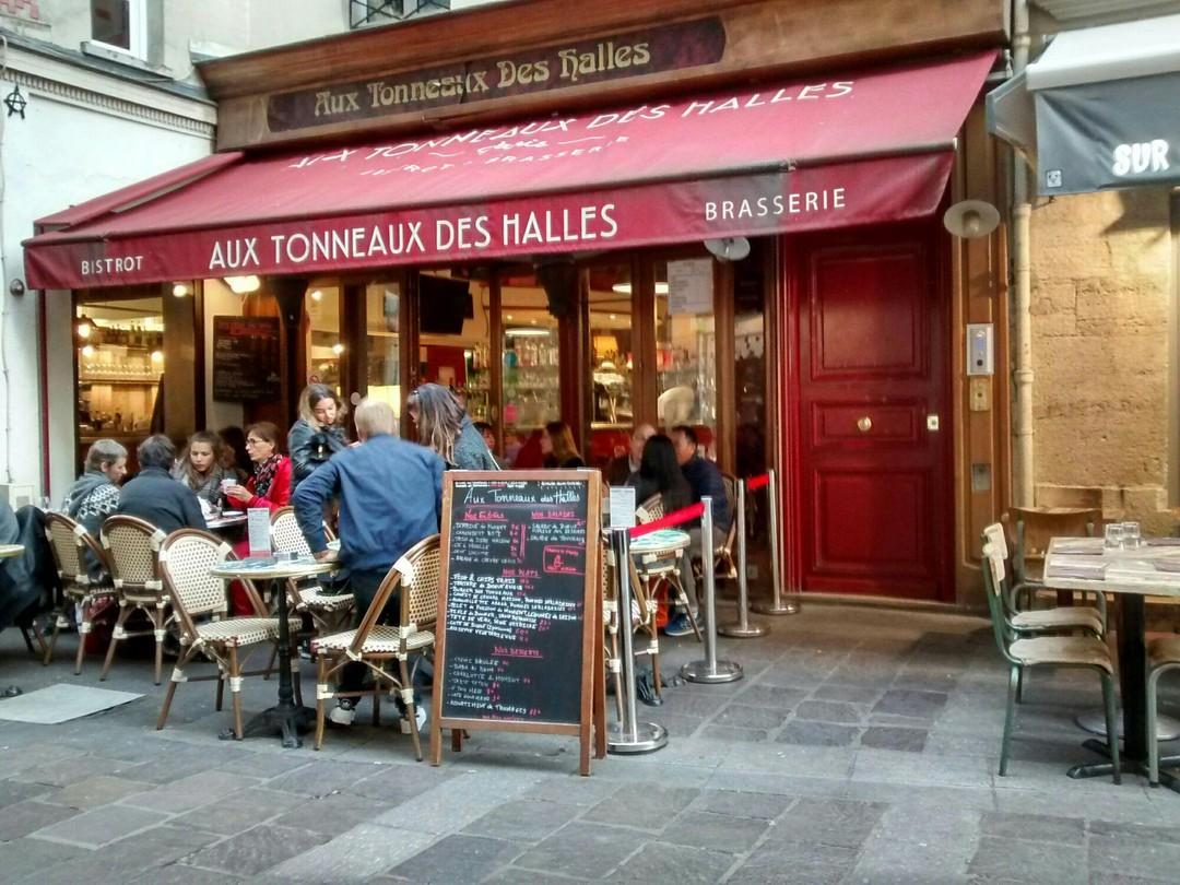 Foto vom 28. Oktober 2017 15:52, Aux Tonneaux des Halles, 28 Rue Montorgueil, 75001 Paris, Frankreich