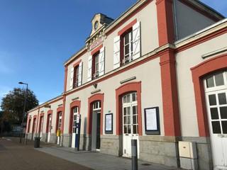 Foto vom 20. Oktober 2017 08:44, Avranches, Place de la Gare, 50300 Avranches, France