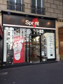 Foto vom 26. August 2016 08:46, SPRINT, 14 Avenue de Wagram, 75008 Paris, Frankreich