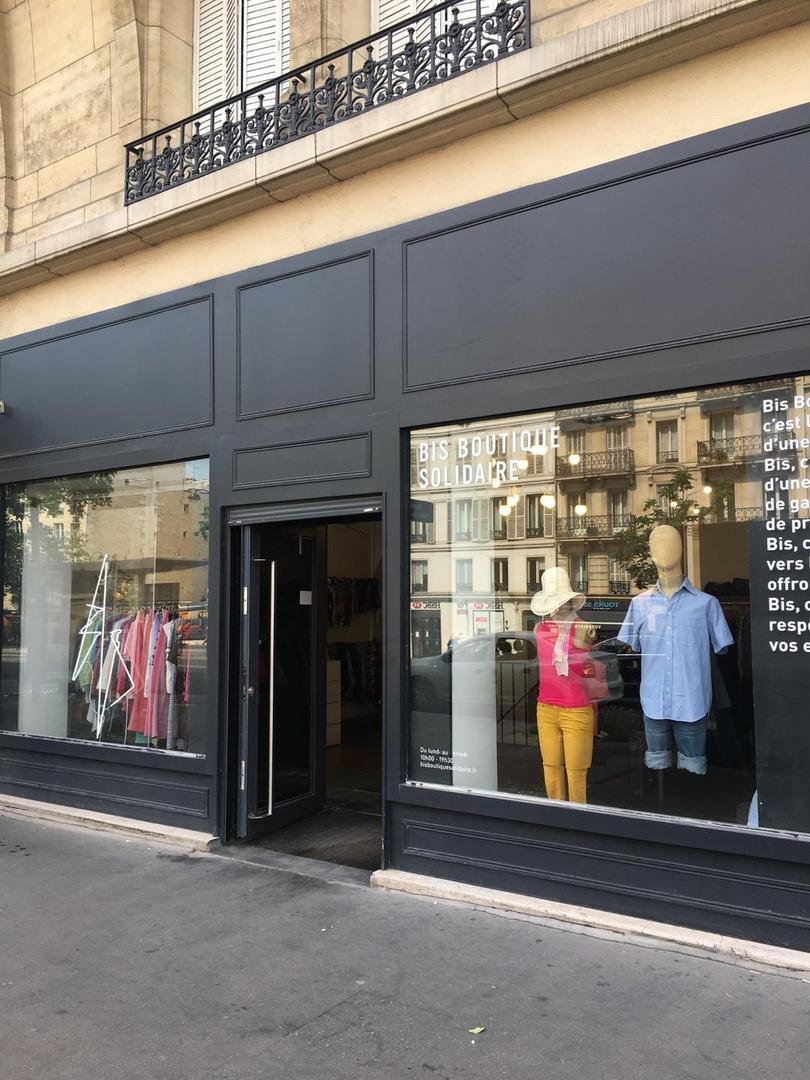 Foto del 22 de junio de 2017 14:27, BIS Boutique Solidaire, 7 Boulevard du Temple, 75003 Paris, Francia