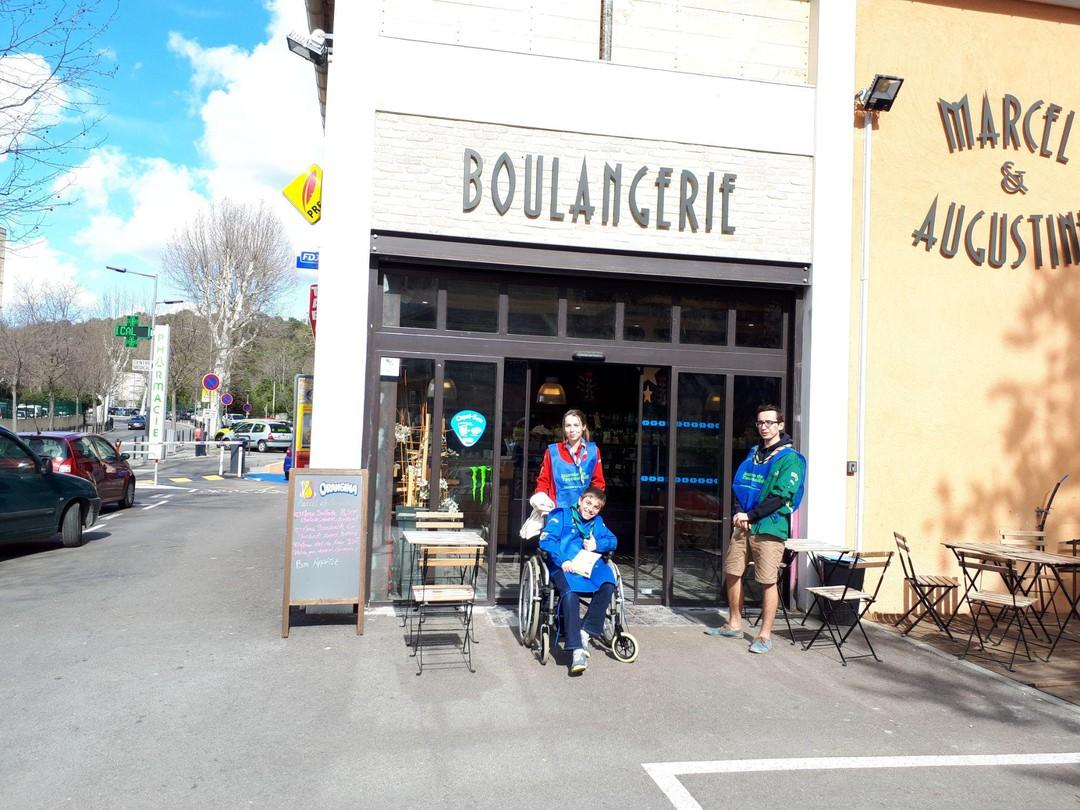 Photo of the March 17, 2018 1:42 PM, BOULANGERIE DU COURS DES ALPES, 2 Avenue Jean Moulin, 13100 Aix-en-Provence, France