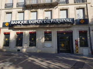 Photo of the September 13, 2017 8:12 AM, Banque Dupuy de Parseval, 30 Place Jean Jaurès, 34500 Béziers, France
