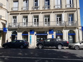 Photo of the September 13, 2017 12:47 PM, Banque Populaire, ter,, 39 Allées Paul Riquet, 34500 Béziers, France
