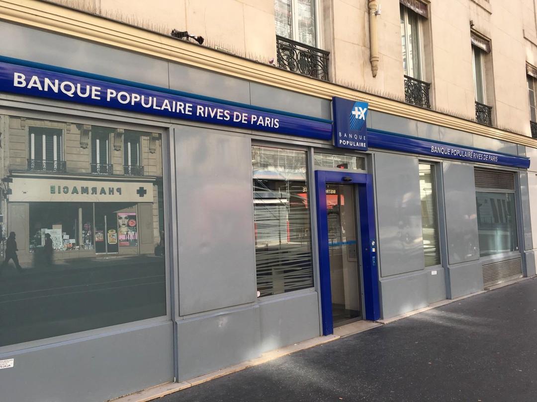 Foto del 21 de septiembre de 2017 9:59, Banque Populaire, 223 Rue du Faubourg Saint-Martin, 75010 Paris, Francia