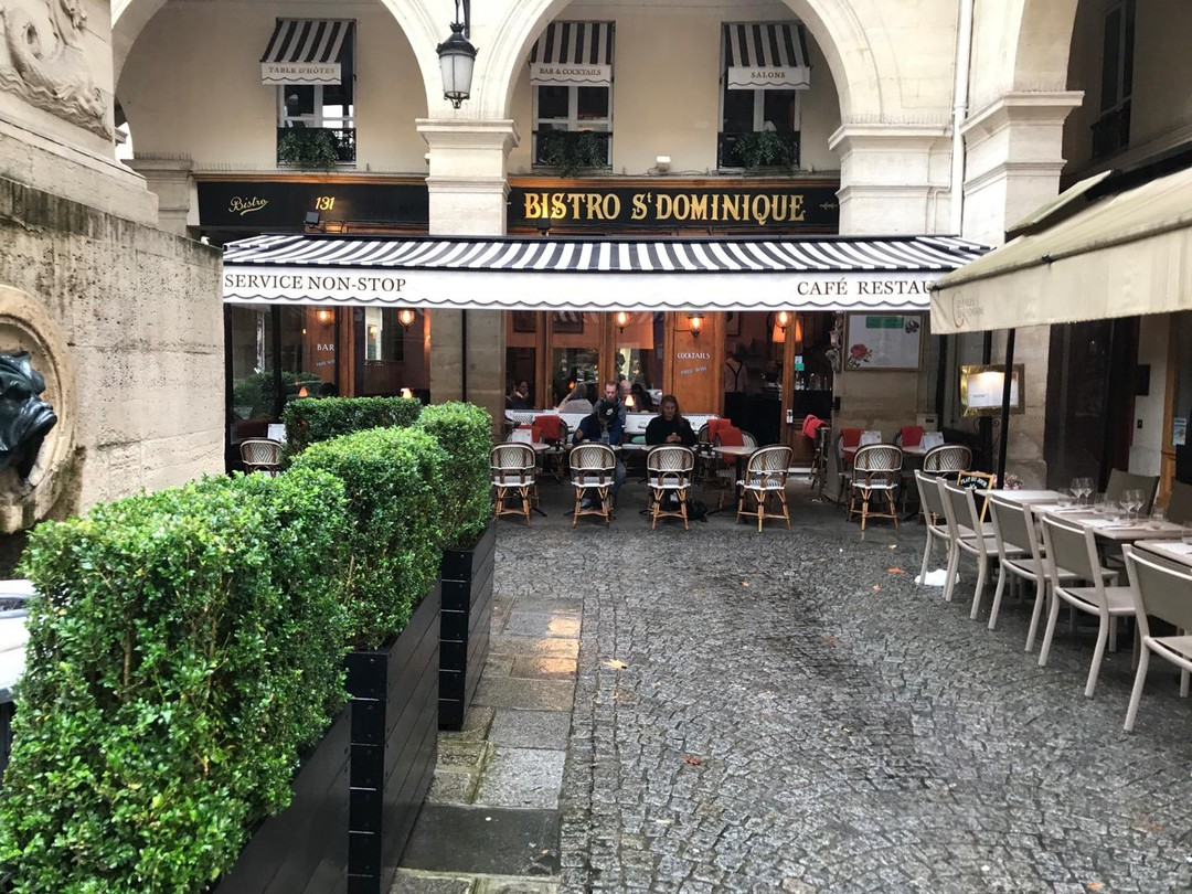 Foto del 13 de septiembre de 2017 12:13, Bistro Saint Dominique, 131 Rue Saint-Dominique, 75007 Paris, Francia