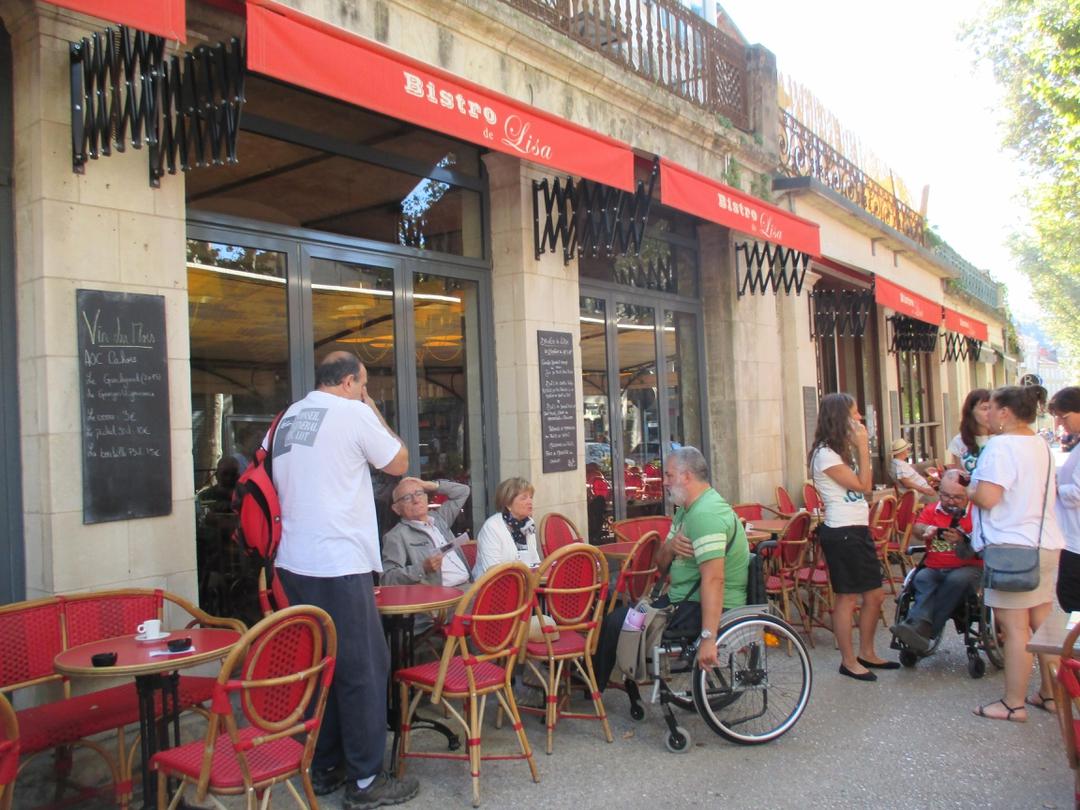 Photo of the July 11, 2017 8:19 PM, Bistro de Lisa, 67bis Boulevard Léon Gambetta, 46000 Cahors, France