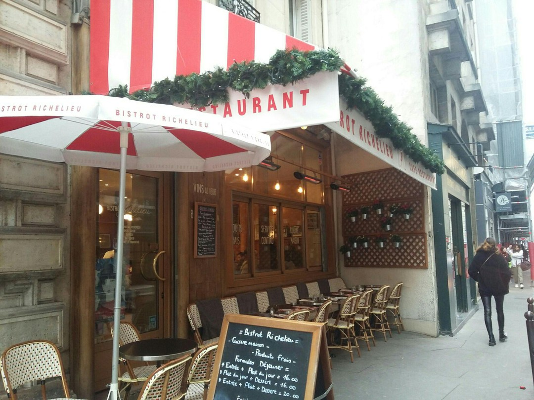 Photo du 2 décembre 2017 13:56, Bistrot Richelieu, 45 Rue de Richelieu, 75001 Paris, France