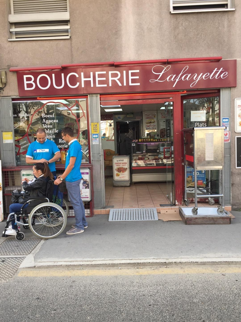 Foto vom 7. September 2017 08:39, Boucherie Lafayette, 270 Cours Lafayette, 69003 Lyon, Frankreich