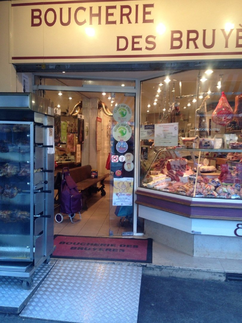 Photo of the December 3, 2016 2:17 PM, Boucherie Les Bruyères Sté, 64 Rue de Paris, 93260 Les Lilas, France