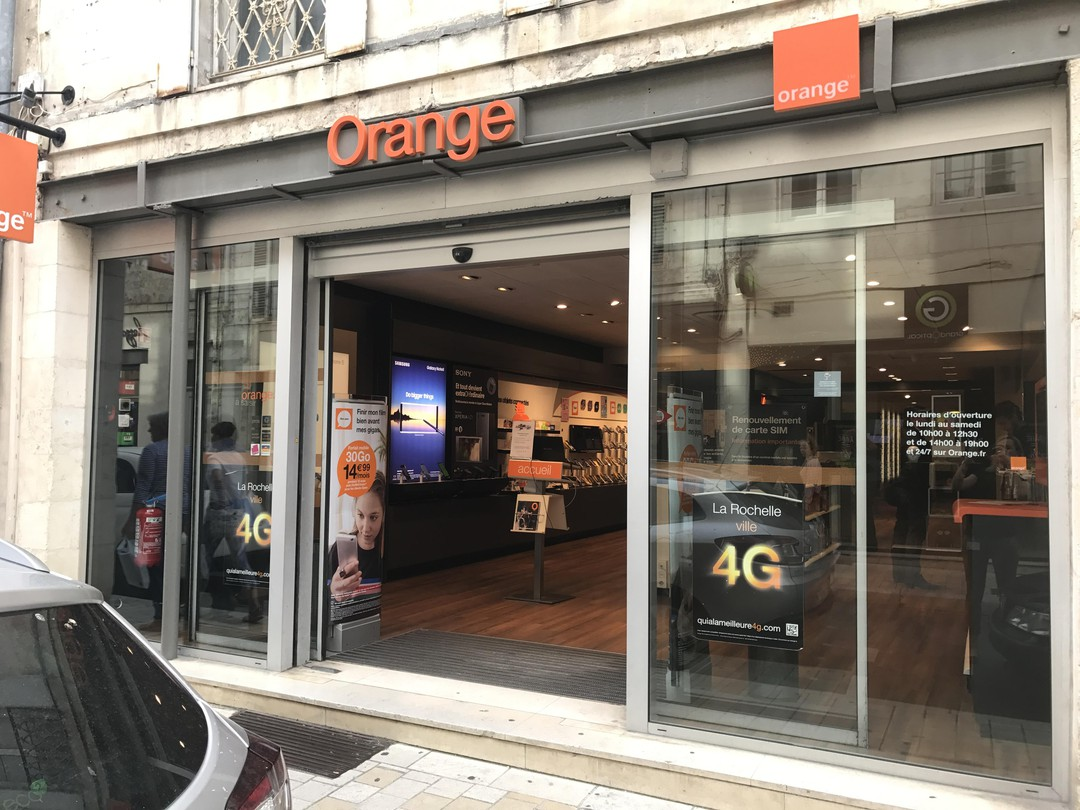Photo du 17 octobre 2017 14:20, Boutique Orange - La Rochelle, 31 Rue Saint-Yon, 17000 La Rochelle, France