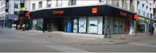 Foto vom 16. Oktober 2017 13:56, Boutique Orange - Lorient, 13 Place Aristide Briand, 56100 Lorient, France