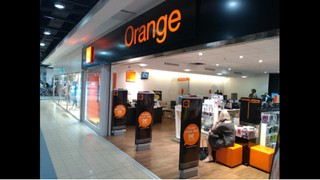 Foto vom 2. Oktober 2017 13:47, Orange, Centre Commercial Geant Bretagnia, 29600 Saint-Martin-des-Champs, France