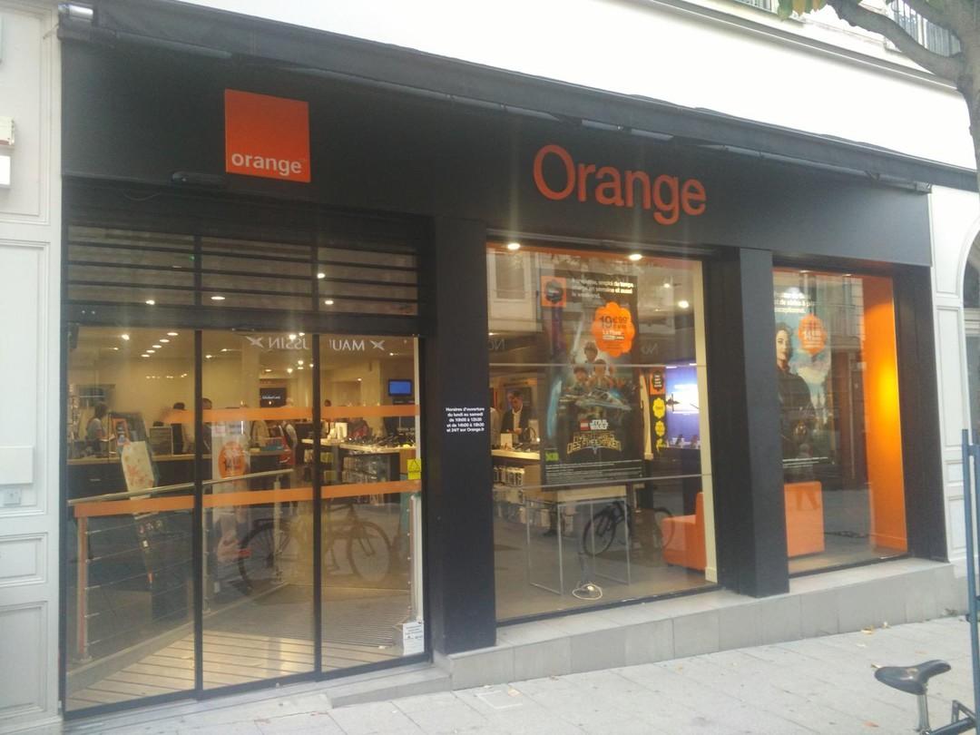 Foto del 17 de octubre de 2017 10:31, Orange, 10 bis RUE LENEPVEU, 49000 Angers, Francia