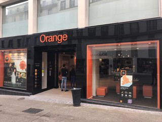 Foto vom 26. September 2017 10:19, Orange, 58 Rue Jean Jaurès, 29200 Brest, Francia